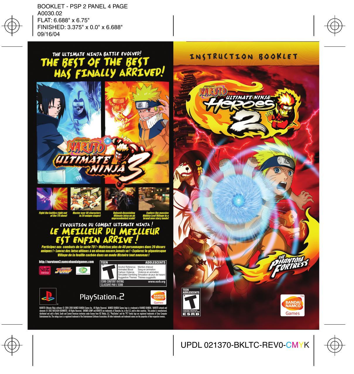 download naruto ninja heroes 2 psp