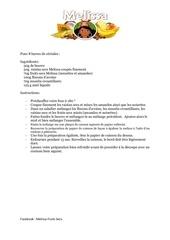 recette barre cereale melissa