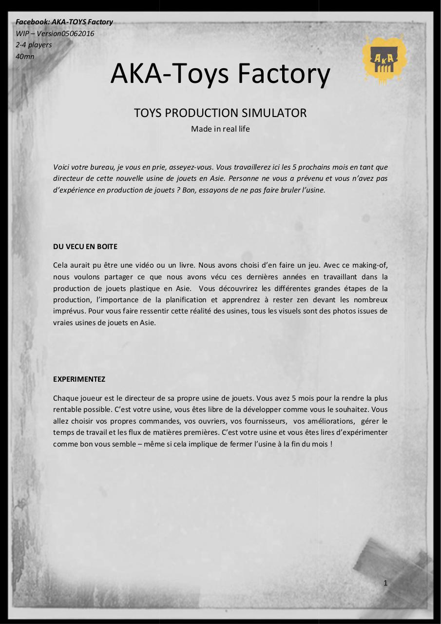 AKA-Toys_Factory_the_Game_Rules_WIP05062016.pdf - page 1/12