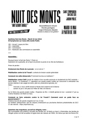 synthese nuit des monts 10 05 1