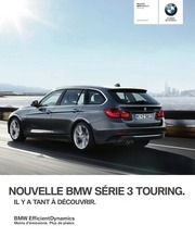 bmw serie3 touring catalogue 2012