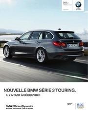 bmw serie3 touring tarifs 2012