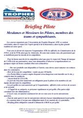 briefing 3eme european dragster