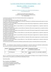 Fichier PDF parution jo