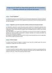 projet accord relatif aux dispositions generales de la ccnf ouvert a la signature 30 mai 2016