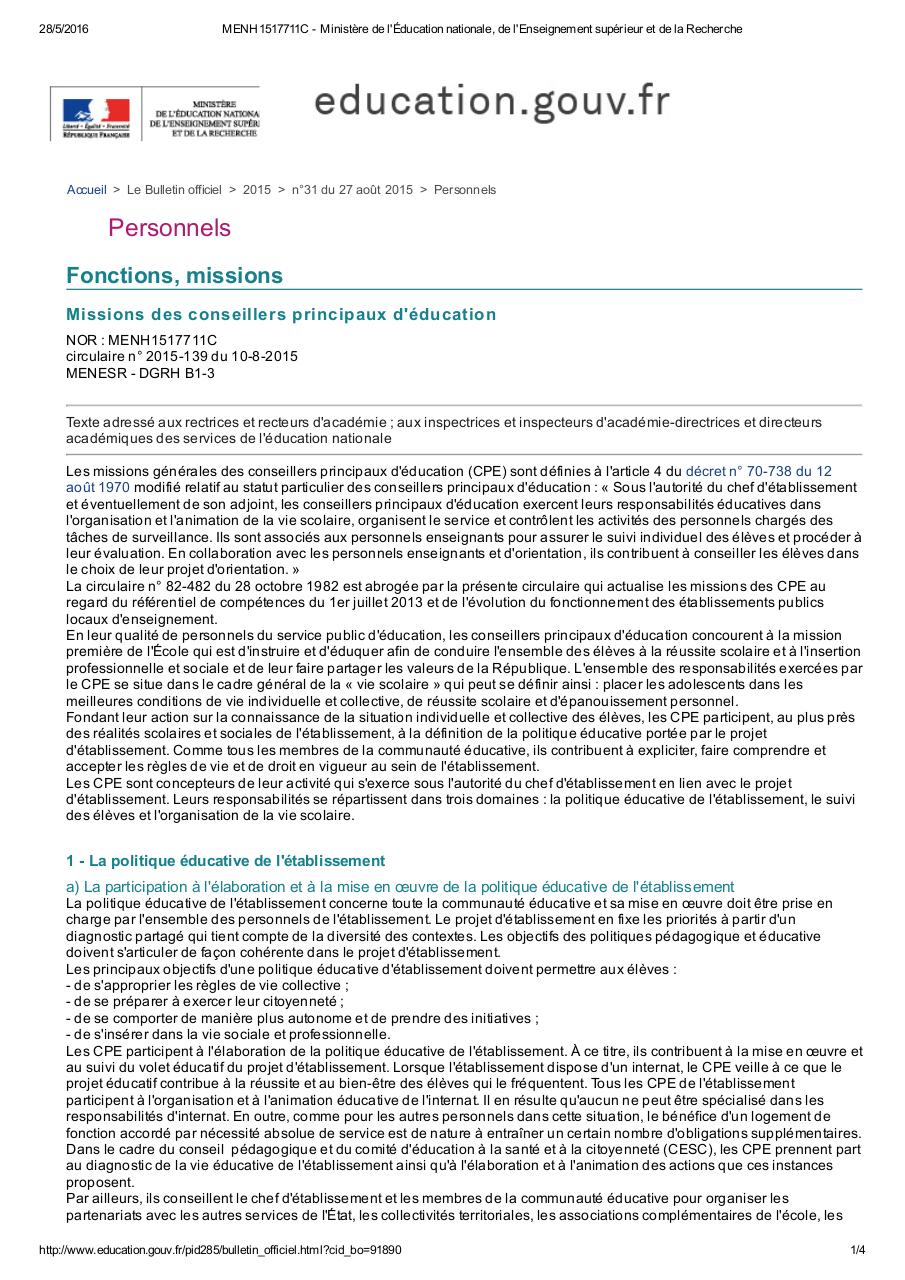 circulaire cpe 2015 MENH1517711C .pdf - page 1/4