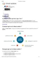 Fichier PDF climat scolaire comprendre