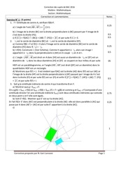 correction du sujet de bac 2016 maths maths