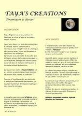 presentation tayas creations pdf