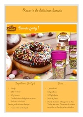 Fichier PDF recette donuts vahine