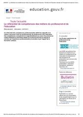 referentiel de competences