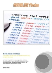 synthese de stage