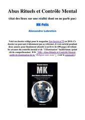 Fichier PDF abus rituels et contro le mental synthe se