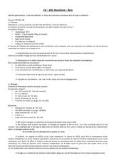 cv ed2 biochimie rein correction