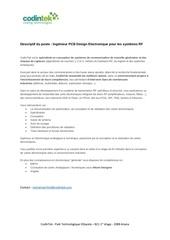 Fichier PDF ingenieur pcb design electronique pour les systemes rf