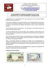 proc pour le visa et carte resident