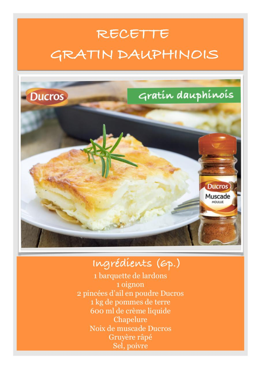 recette gratin dauphinois ducros.pdf - page 1/2