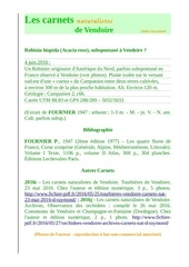 robinia hispida vendoire dordogne carnets nat d raymond