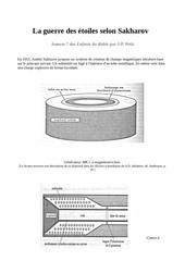 Fichier PDF sakarov canon plasma