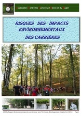 accob impacts environementaux developpement durable 2016