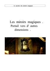 Fichier PDF les miroirs magiques777