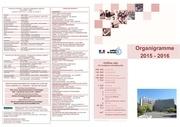 organigramme 2015 2016