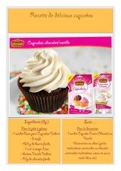 Fichier PDF recette cupcake vahine