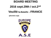 ase board meeting presentation pwp