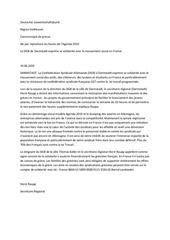 communique dgb solidarite contre la loi travail