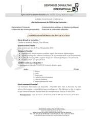 conditions de participation atelier abidjan 2016