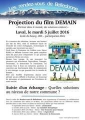 Fichier PDF flyer projection demain laval