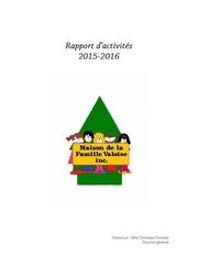 rap activite 2015 2016