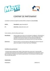contrats zone actu move radio
