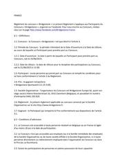 reglement bridgestone france