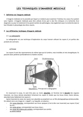 revisions techniques imagerie medicale