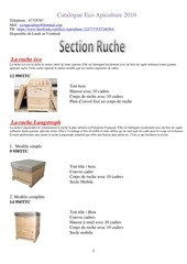 Fichier PDF catalogue eco apiculture