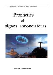 Fichier PDF prophetie