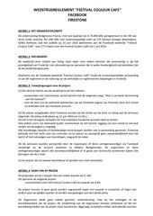 reglement jeu concours facebook couleur cafe festival nl2