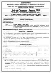 avis concours session 2016 phase 2 v3