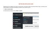 Fichier PDF les articles