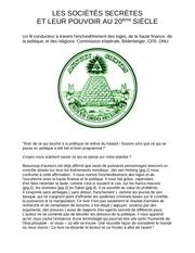 Fichier PDF les societes secretes