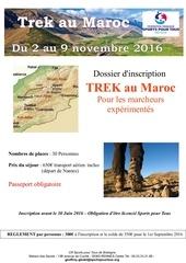 track trek maroc nov 2016