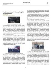 article repression rennes