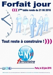 unsa ferroviaire table ronde sncf forfait jours 21 06 2016