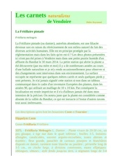 vendoire carnets nat fritillaria meleagris d raymond