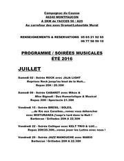 programme soirees campagnac 2016 1