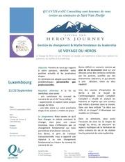 seminaire voyage du heros