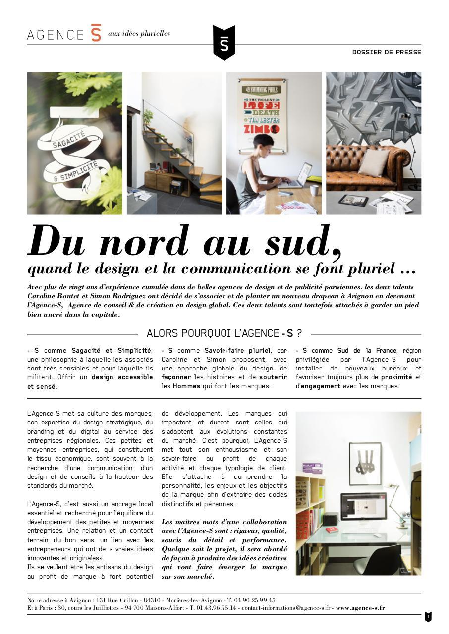 Dossier De Presse Agence S Fichier Pdf