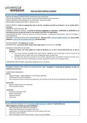 fiche de poste bdx accueille2016