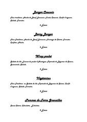 Fichier PDF menu 1